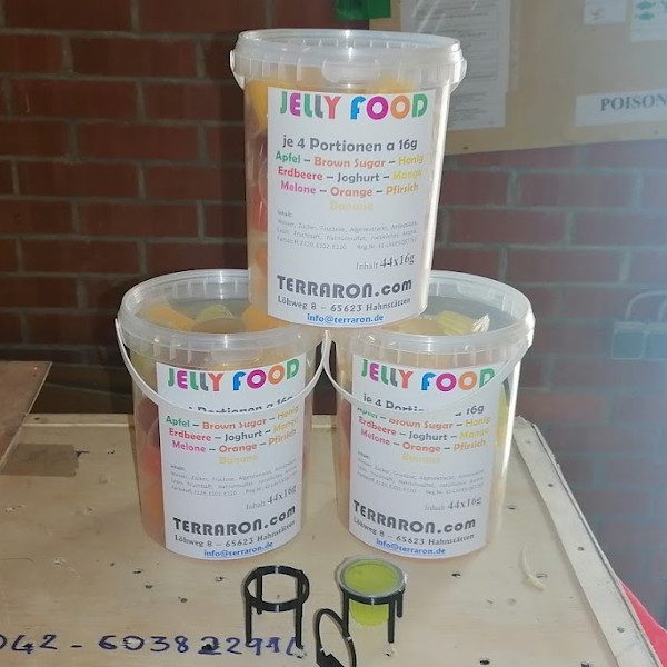 44x Mixed Jelly Food im Eimer